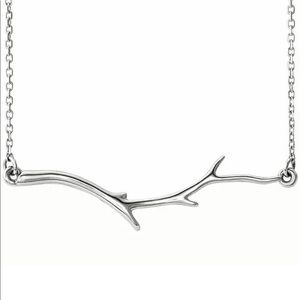 Jewelry - Silver Branch Necklace